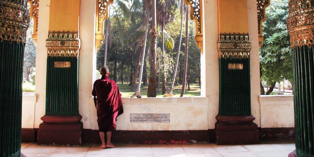 Speaking English in Yangon, Myanmar