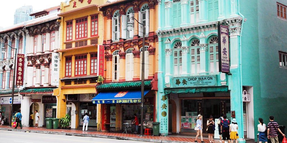 Exploring Chinatown in Singapore