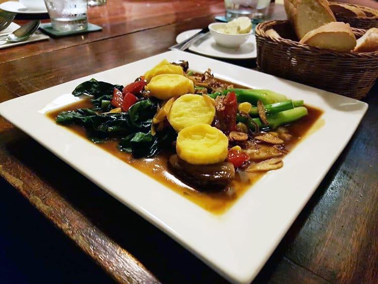 A meal at Romdeng Restaurant in Phnom Penh