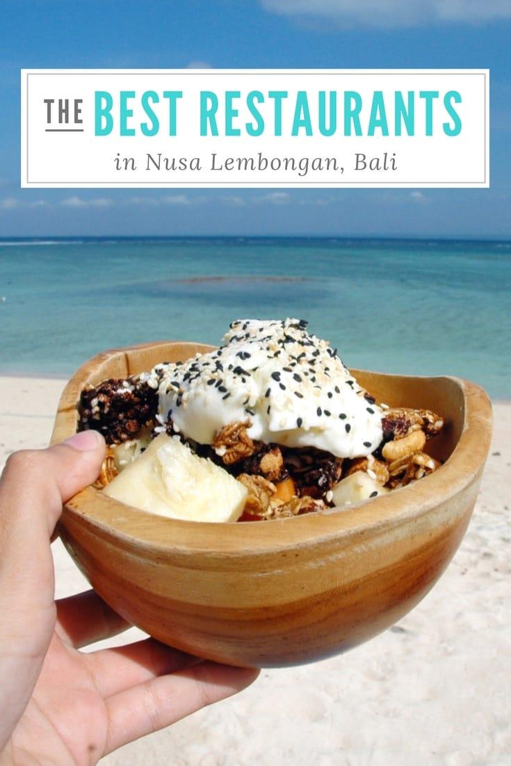 Best Restaurants in Nusa Lembongan, Bali, Indonesia on a Budget Bali, Indonesia Travel Honeymoon Backpack Backpacking Vacation #travel #honeymoon #vacation #backpacking #budgettravel #offthebeatenpath #bucketlist #wanderlust #Bali #Asia #southeastasia #sea #indonesia #exploreBali #visitBali #seeBali #discoverBali #TravelBali #BaliVacation #BaliTravel #BaliHoneymoon