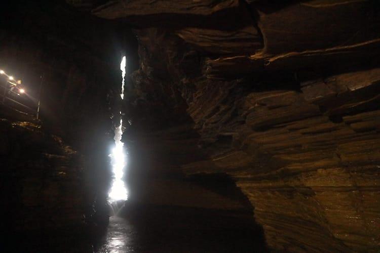 Inside Gupteshwor Mahadev Cave in Pokhara, Nepal