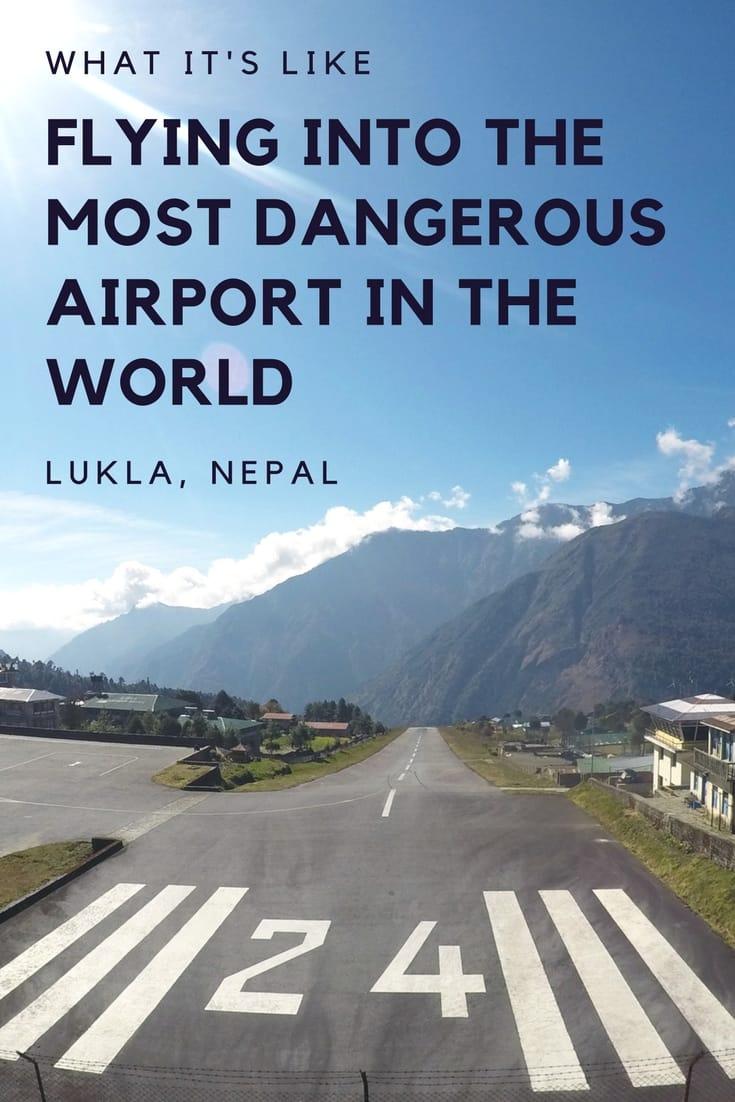 The Flight to Lukla Airport: What It's Like the most dangerous airport in the world - Nepal Travel Honeymoon Backpack Backpacking Vacation #travel #honeymoon #vacation #backpacking #budgettravel #offthebeatenpath #bucketlist #wanderlust #Nepal #Asia #southasia #exploreNepal #visitNepal #seeNepal #discoverNepal #TravelNepal #NepalVacation #NepalTravel #NepalHoneymoon