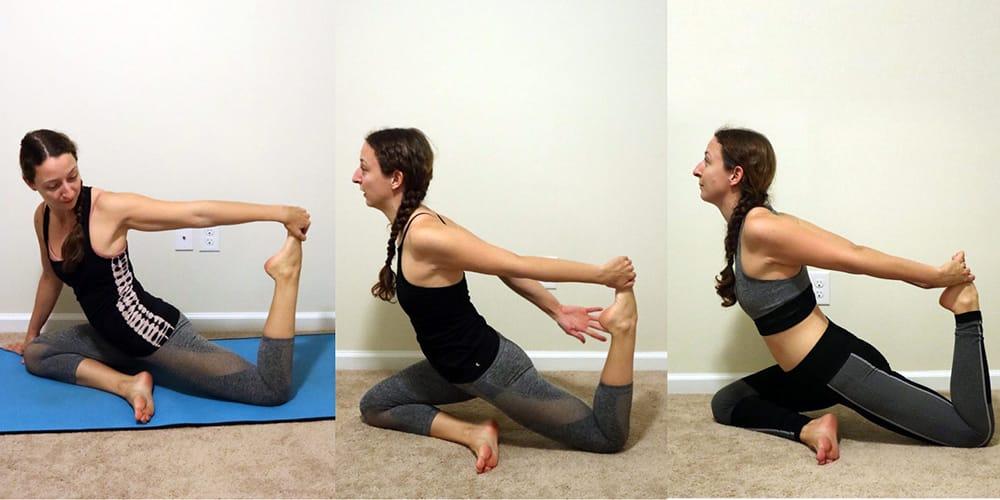 14 day yoga challenge pigeon