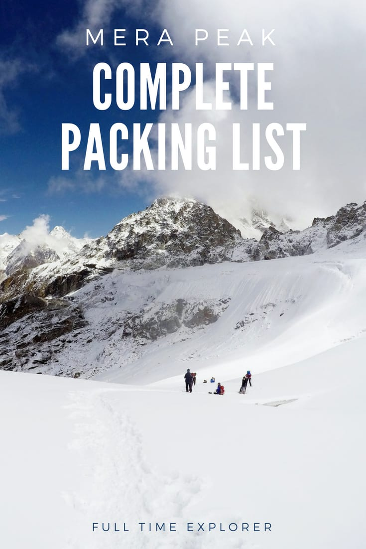 Mera Peak: A Complete Packing List for Nepal's Highest Trekking Peak Nepal Travel Honeymoon Backpack Backpacking Vacation #travel #honeymoon #vacation #backpacking #budgettravel #offthebeatenpath #bucketlist #wanderlust #Nepal #Asia #southasia #exploreNepal #visitNepal #seeNepal #discoverNepal #TravelNepal #NepalVacation #NepalTravel #NepalHoneymoon