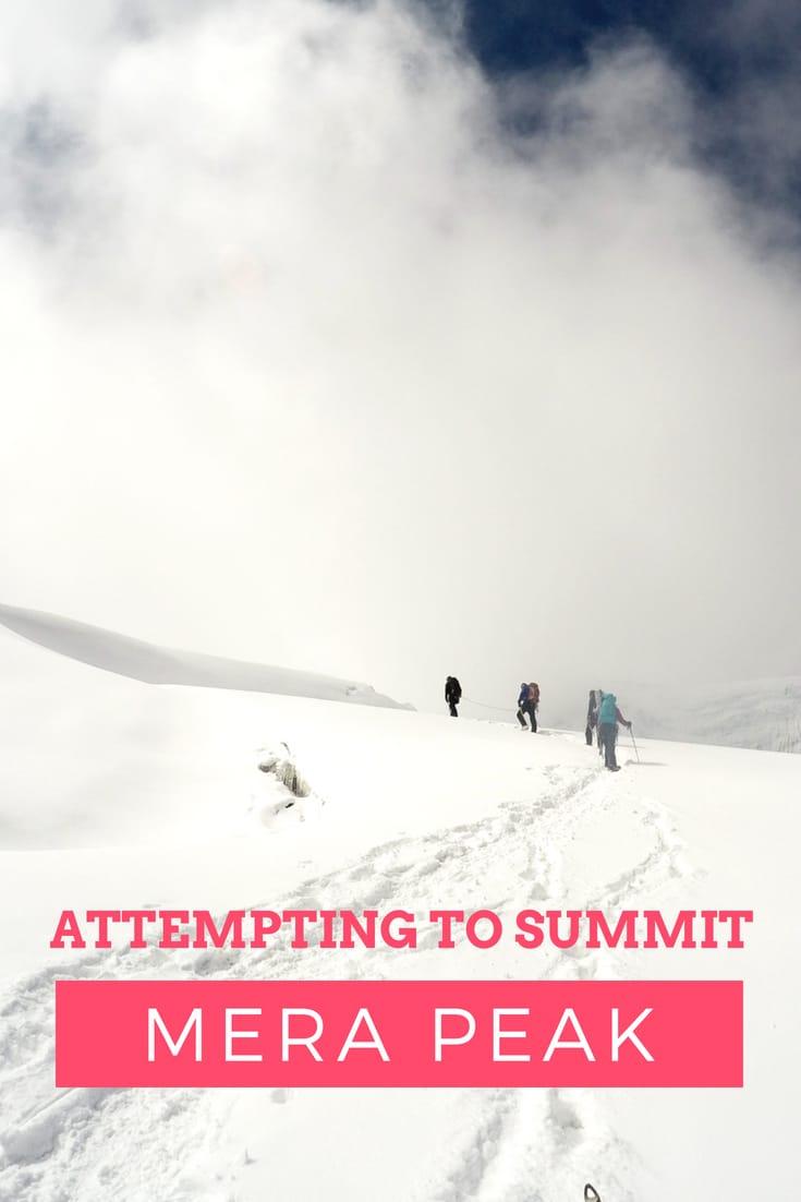 Attempting to Summit Mera Peak in Nepal as an Inexperienced Climber Nepal Travel Honeymoon Backpack Backpacking Vacation #travel #honeymoon #vacation #backpacking #budgettravel #offthebeatenpath #bucketlist #wanderlust #Nepal #Asia #southasia #exploreNepal #visitNepal #seeNepal #discoverNepal #TravelNepal #NepalVacation #NepalTravel #NepalHoneymoon
