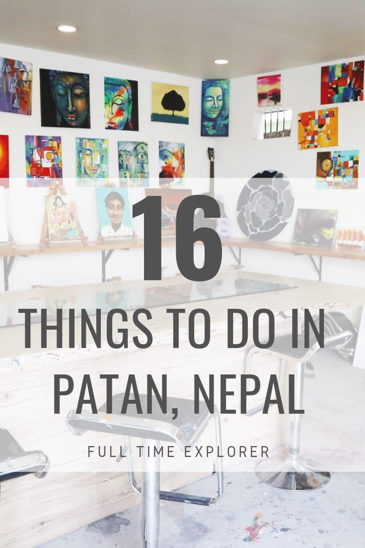 16 Cool Things to do in Patan, Nepal - Lalitpur Jawalakhel Full Time Explorer Nepal Travel Honeymoon Backpack Backpacking Vacation #travel #honeymoon #vacation #backpacking #budgettravel #offthebeatenpath #bucketlist #wanderlust #Nepal #Asia #southasia #exploreNepal #visitNepal #seeNepal #discoverNepal #TravelNepal #NepalVacation #NepalTravel #NepalHoneymoon