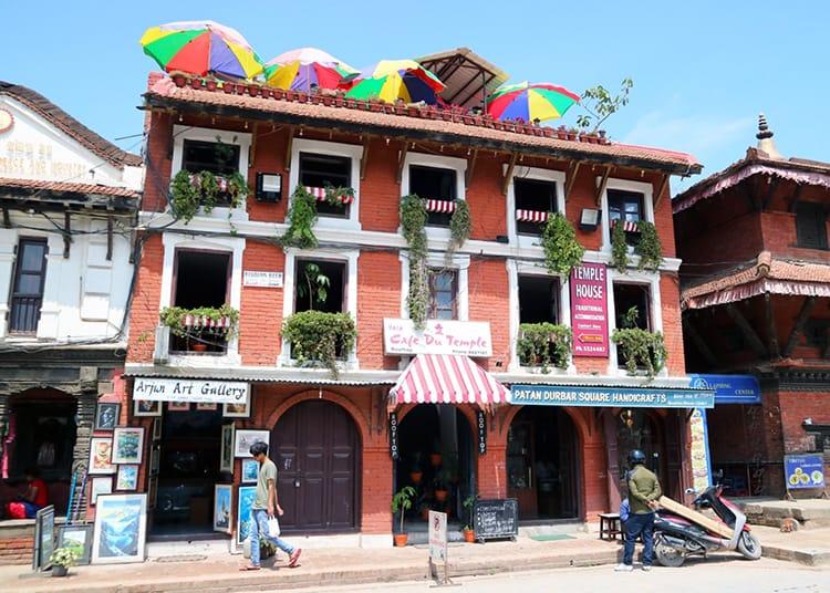 Cafe du Temple Restaurant in Patan Nepal