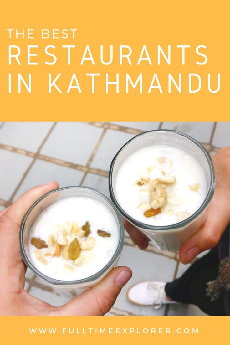 Best Restaurants in Kathmandu Recommended by Locals Full Time Explorer Nepal Travel Honeymoon Backpack Backpacking Vacation #travel #honeymoon #vacation #backpacking #budgettravel #offthebeatenpath #bucketlist #wanderlust #Nepal #Asia #southasia #exploreNepal #visitNepal #seeNepal #discoverNepal #TravelNepal #NepalVacation #NepalTravel #NepalHoneymoon