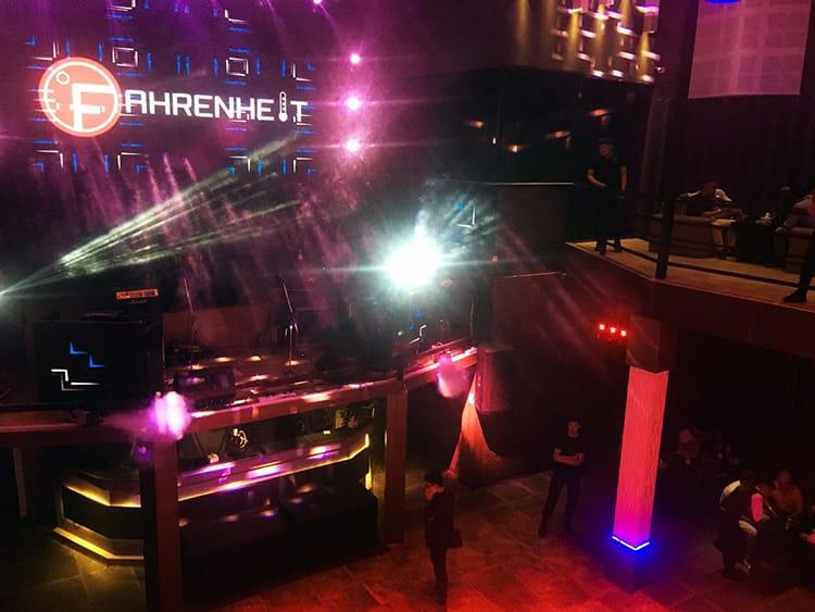 Club Fahrenheit in Kathmandu on a Friday night