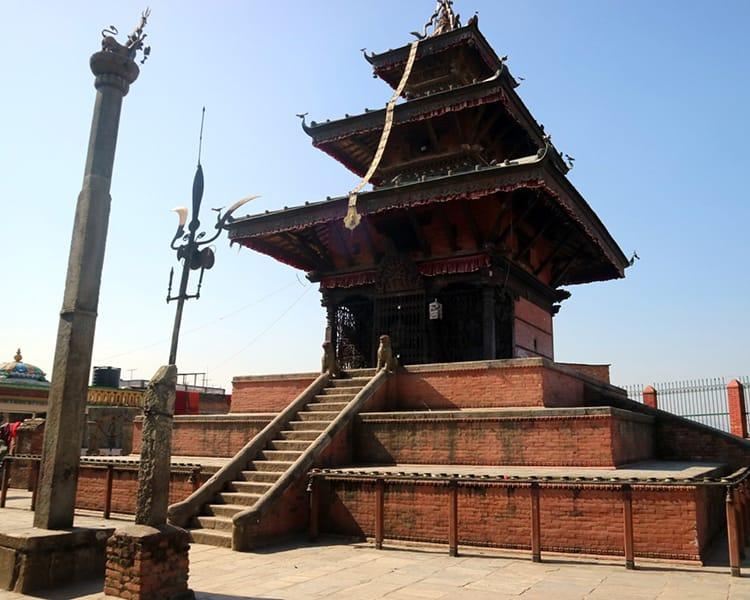 The Bhagwati Temple in Dhulikhel Nepal