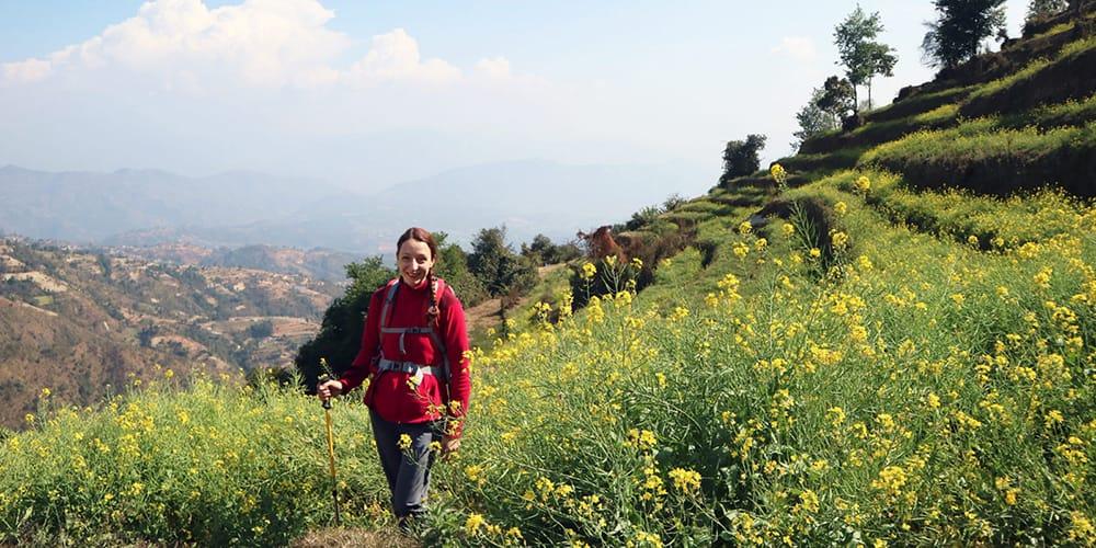 Hiking from Nagarkot to Dhulikhel Trek in Kathmandu Valley