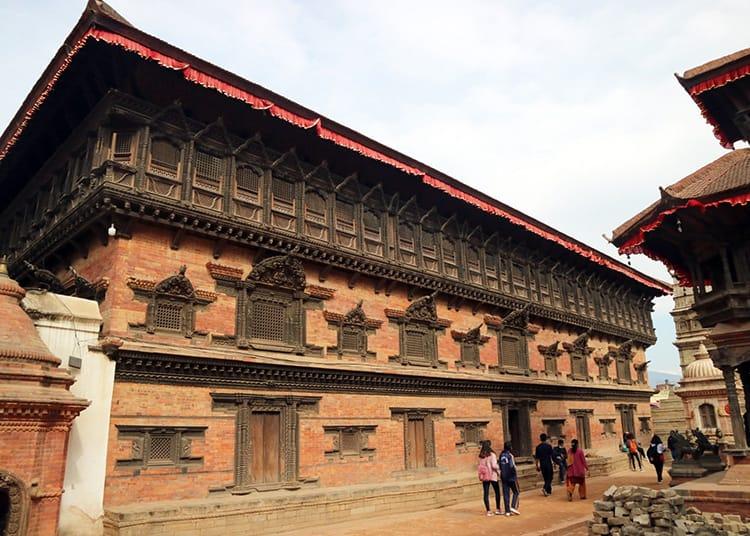 The 55 window palace in Bhaktapur