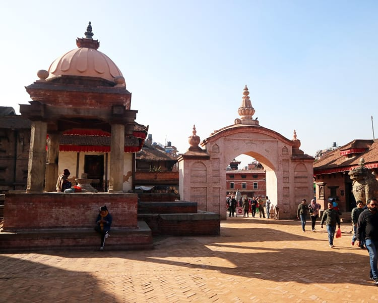 Bhaktapur Durbar Square Entry Gate