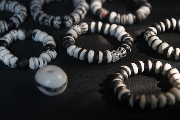 Beaded bracelets from Bottles to Beads