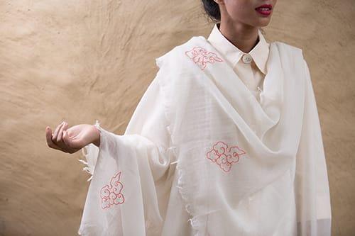A light airy shawl from Ramalaya