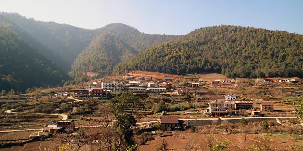 Chitlang Village Nepal