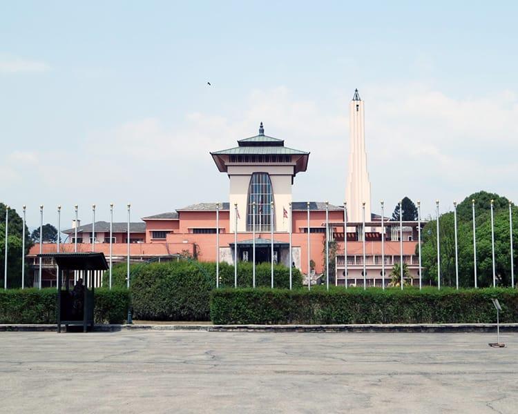 Narayanhiti Palace Museum in Kathmandu Nepal