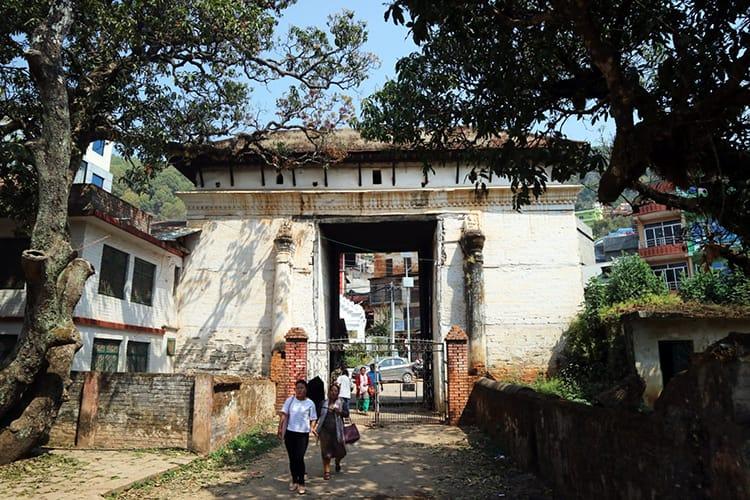 The Tansen Palpa Durbar Square entry gate