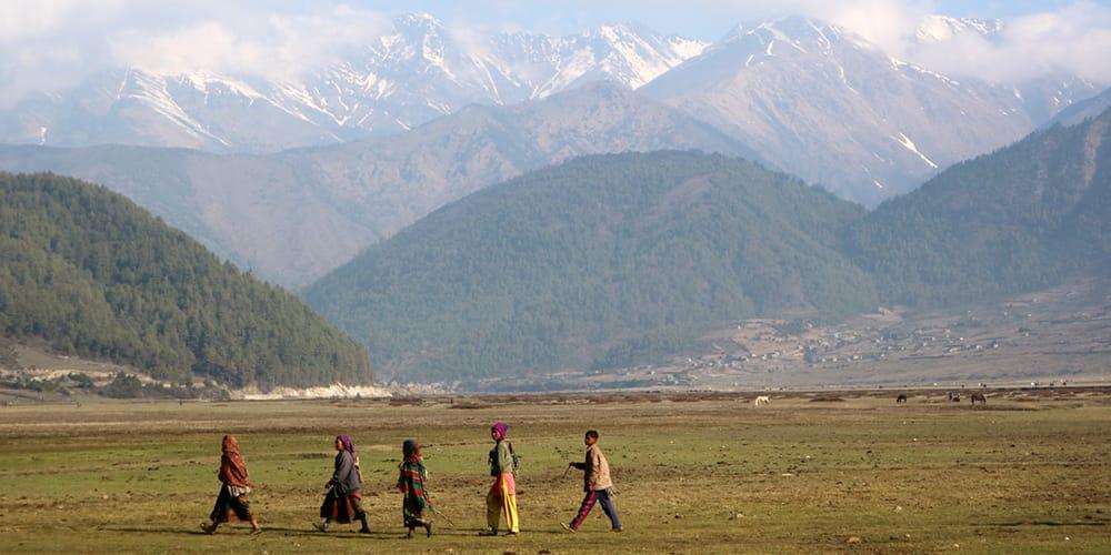 nepal in april dhorpatan hunting reserve