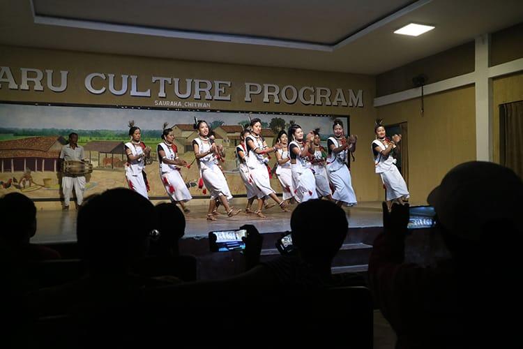 Tharu Cultural Program in Sauraha