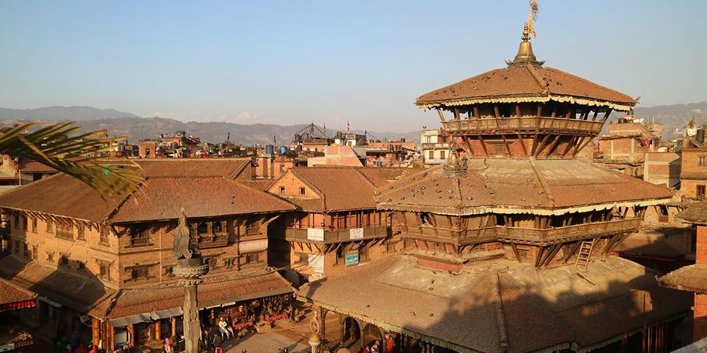 Nepal in Winter Bhaktapur