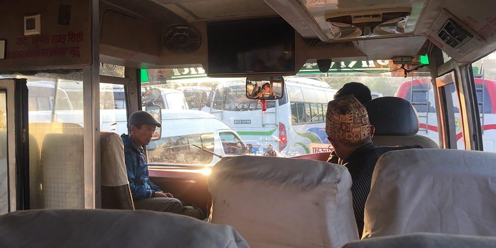 Kathmandu to Chitwan by Bus