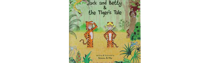 Jack and Betty and the Tiger's Tale Book Cover