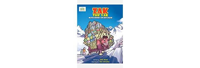 Zak the Yak Book Cover