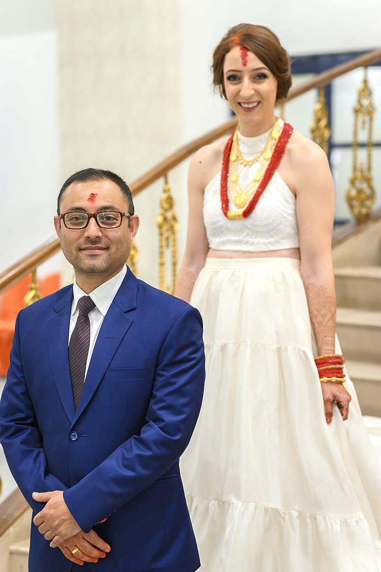 Nepali marriage dress