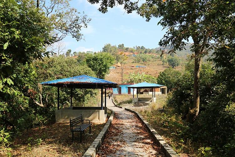 A picnic area near Baraha Temple around Begnas Lake
