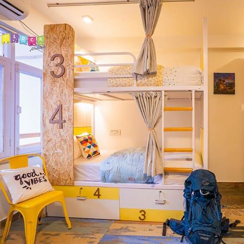 Dorm Beds in Flock Hostel in Kathmandu