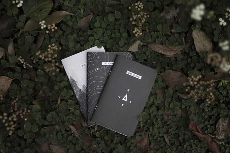 Three Yatri Supply travel journals
