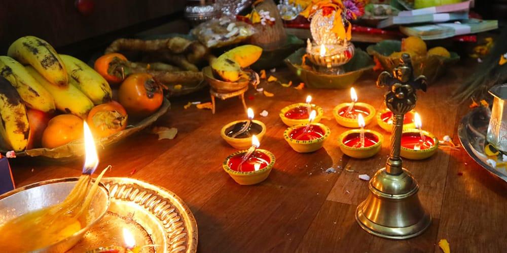 Laxmi Puja in Nepal