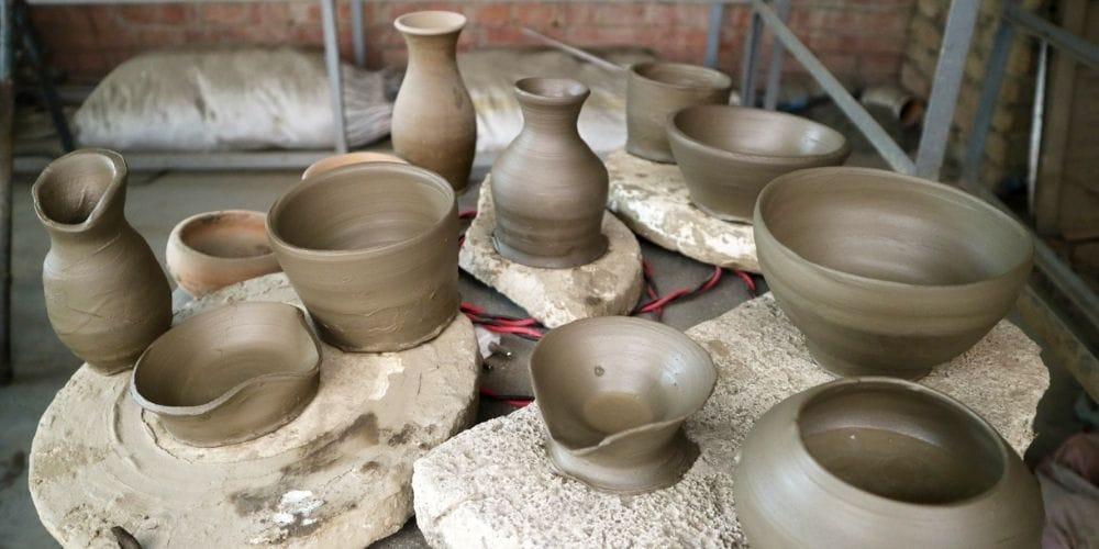 Pottery class in Kathmandu