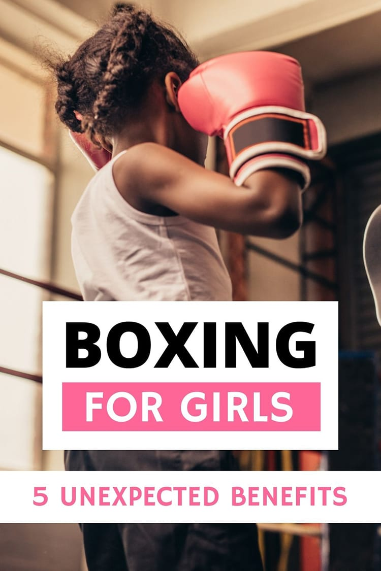 Thinking about starting boxing or signing up your daughter? Here are 5 unexpected benefits of boxing for girls and women. Learn to let go, be mindful, work as a team and more! Boxing for girls, boxing for women, why girls should box, girl mom, is boxing good for kids, little feminists, strong girls, independent girls, how to raise a confident girl #boxing