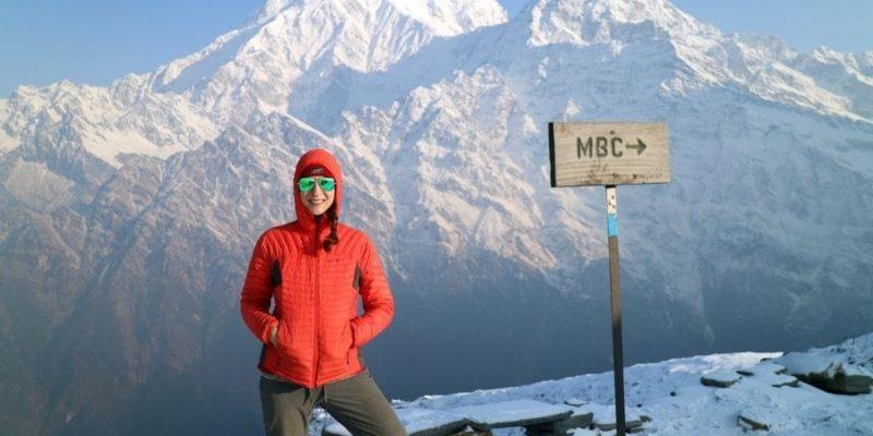 Mardi Himal Trek Itinerary Map Route Trail Nepal Trekking Base Camp View Point