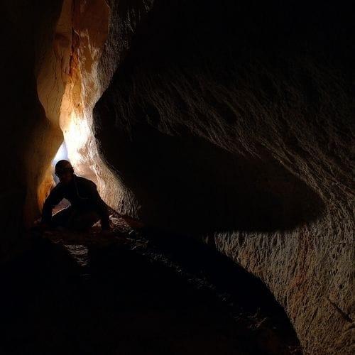 cave trek thailand